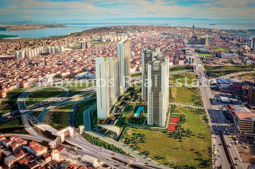 عقارات في اسطنبول مع اطلالات بحرية في وسط اسنيورت في الجانب الاوروبي photos #1