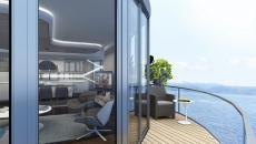 شقة فاخرة مطلة على البحر في الجانب الآسيوي من اسطنبول- كارتال thumb #1