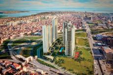 عقارات في اسطنبول مع اطلالات بحرية في وسط اسنيورت في الجانب الاوروبي