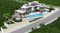 فيلا فاخرة قيد الانشاء في منطقة كالكان في تركيا  thumb #1