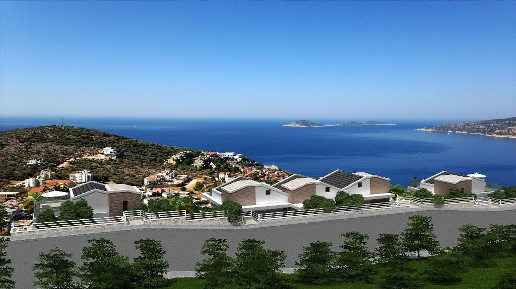 Buy luxury sea view flat Kalkan Turkey photos #1
