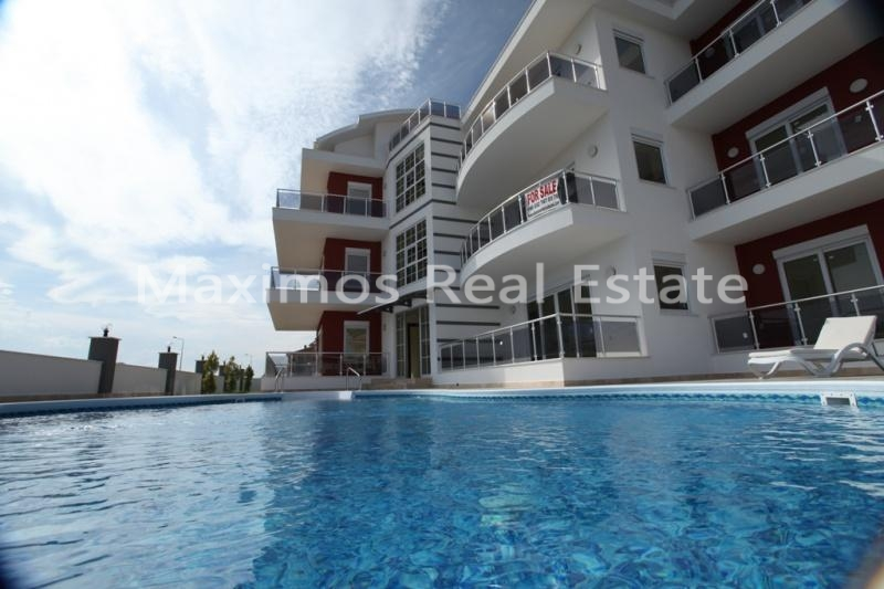 Apartments With Swimming Pool In Belek For Sale photos #1