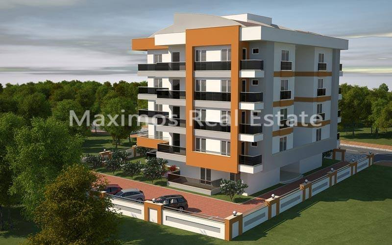 Modern Apartments For Sale With Mountain View Antalya Konyaalti  photos #1