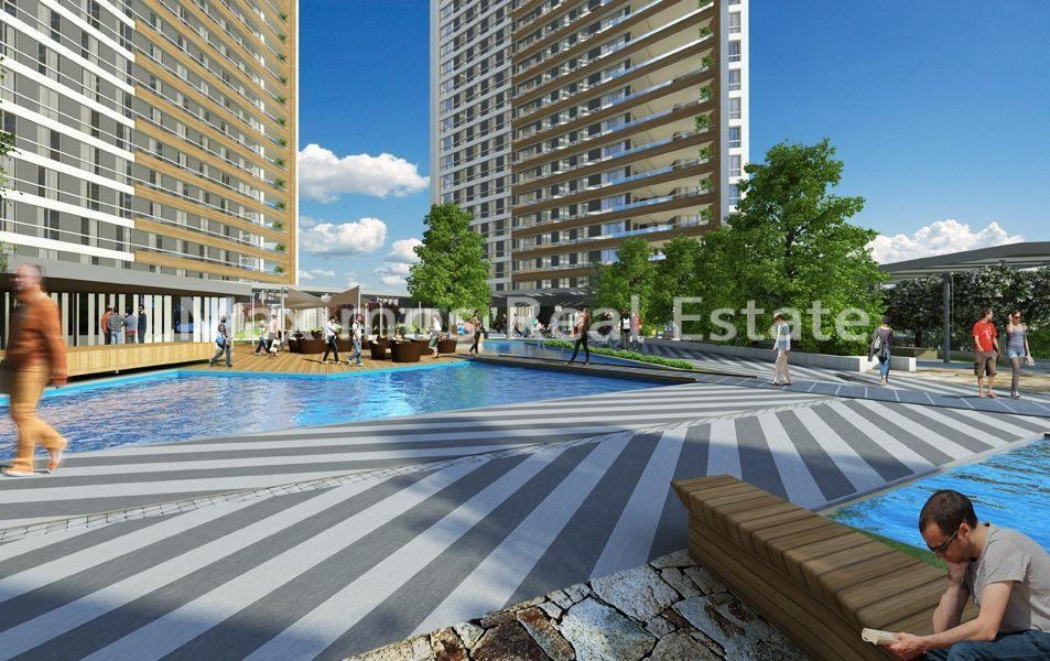 Seaview apartments in Istanbul for sale photos #1