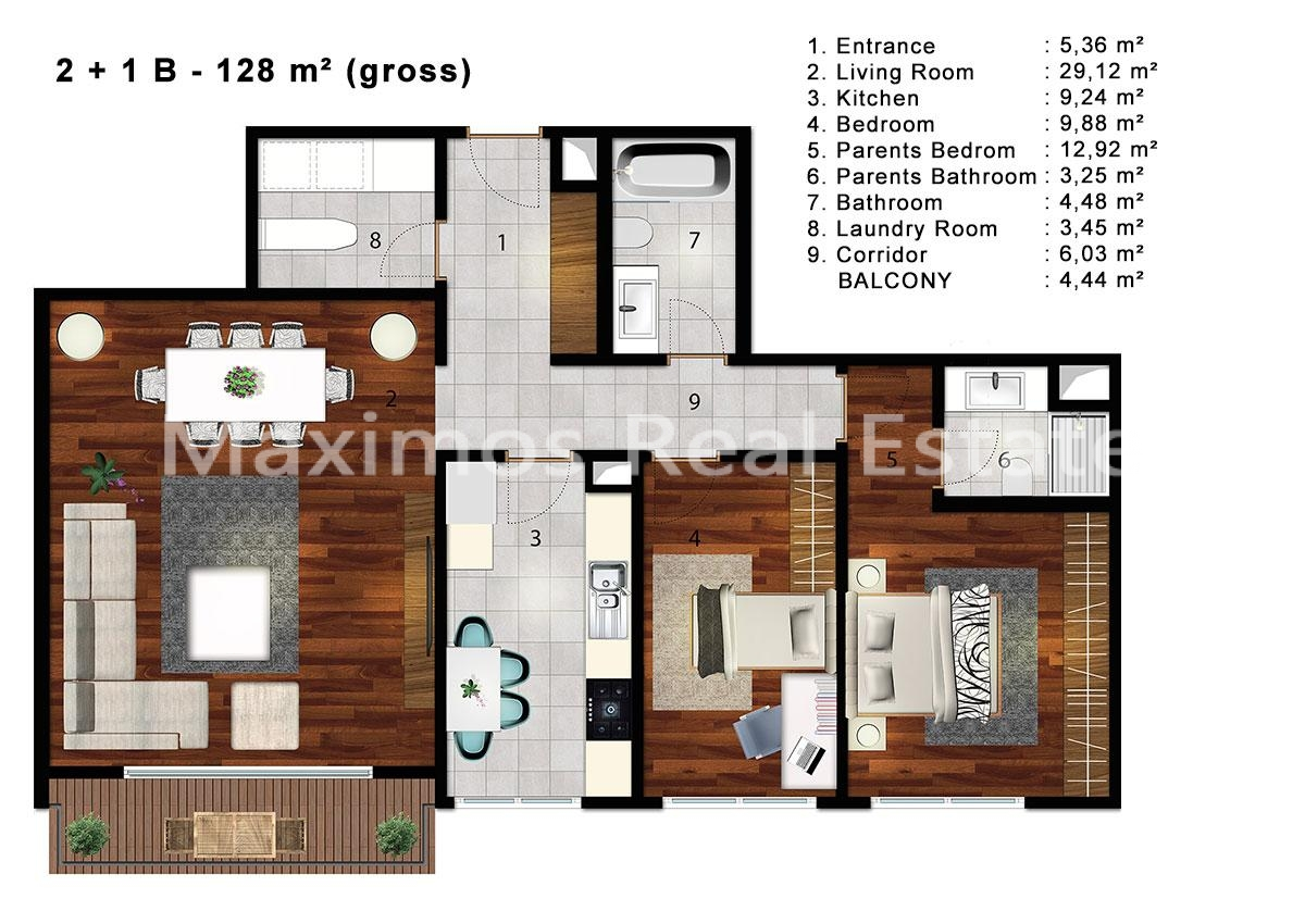 Seaview flats for sale Istanbul Turkey photos #1