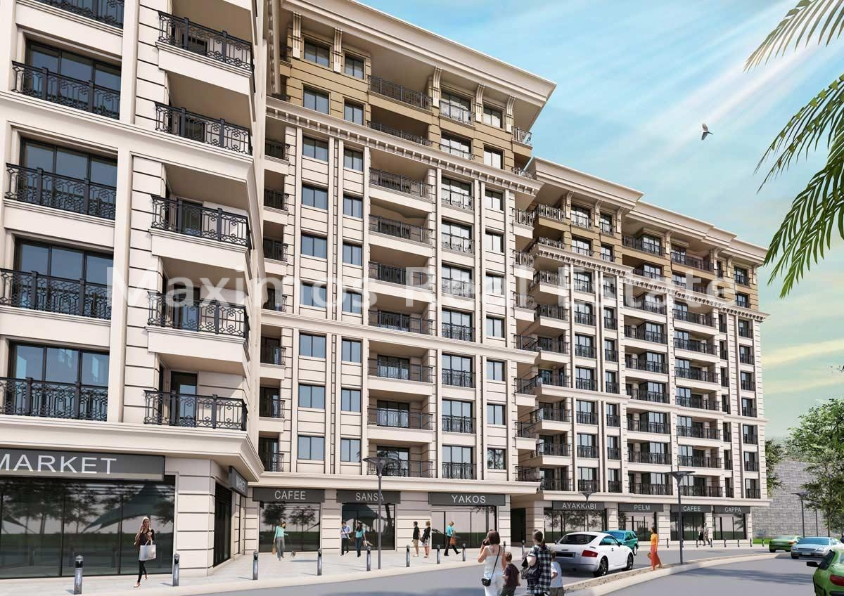 Istanbul city center real estate photos #1