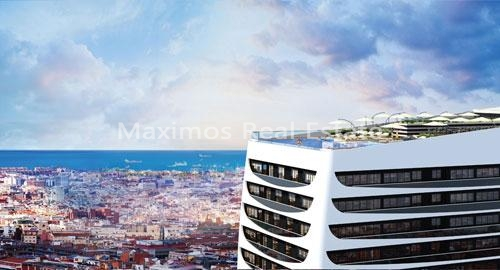 Sea view apartment Istanbul to buy