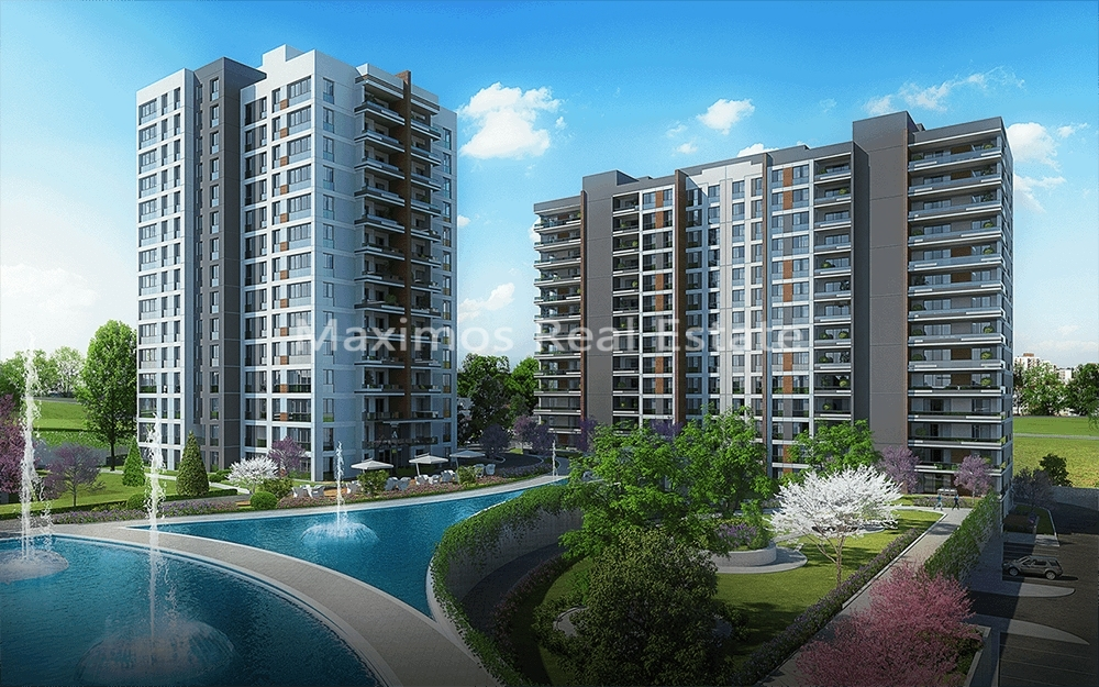 Apartments for sale in Başakşehir in Istanbul || Maximos Real Estate photos #1