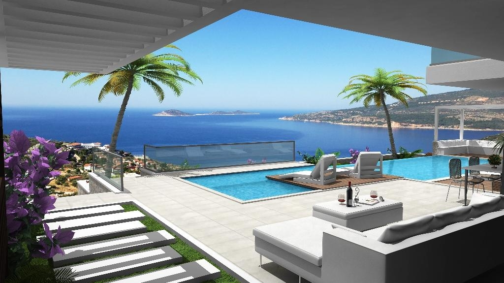 Villa With Sea View In Kalkan Turkey - Kalkan Villas photos #1