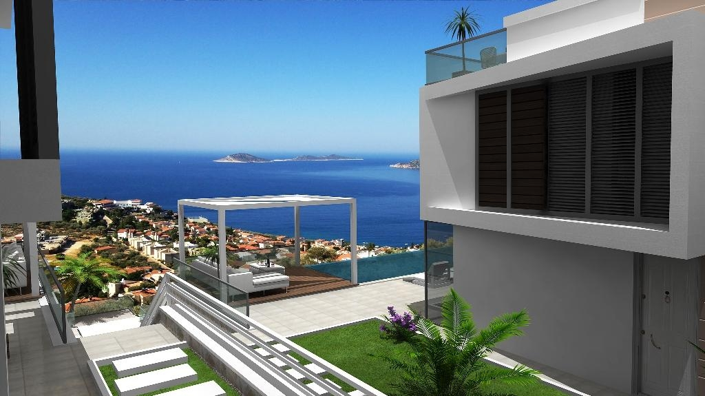 Villa with sea view Kalkan Turkey photos #1