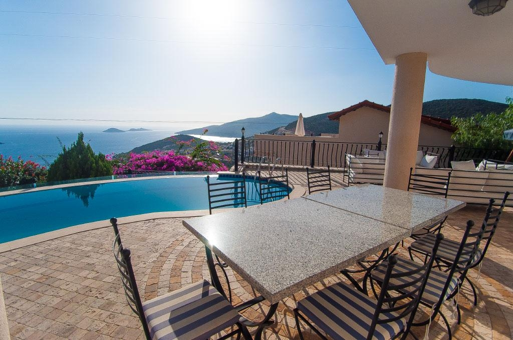 Furnished luxury villa sea view Kalkan Turkey photos #1