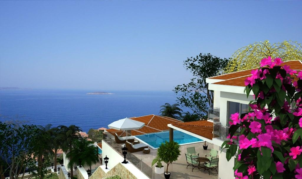Furnished villa for sale in Kas Turkey photos #1
