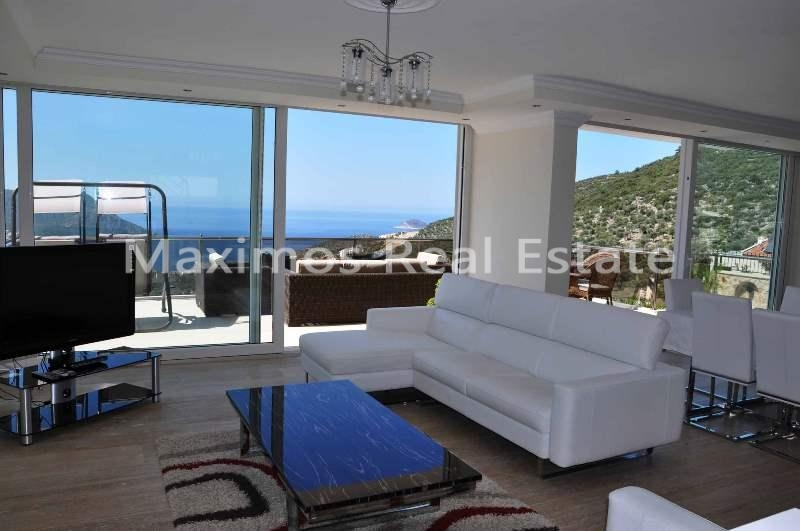 Buy house Turkey with sea view photos #1