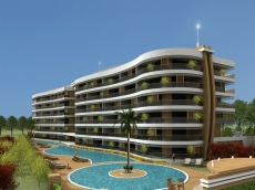 Sea view apartments for sale in Alanya
