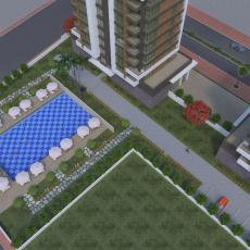 Apartments in Antalya near shopping center