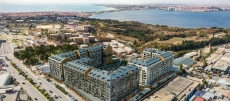 Ready to move in apartments for sale in Avcilar with sea view, Istanbul