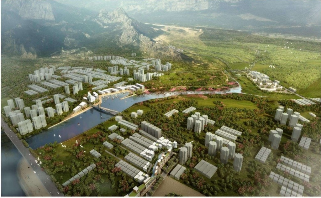 """Boğaçay Marina"" a Project that will give a new bright face to Konyaalti Beach"