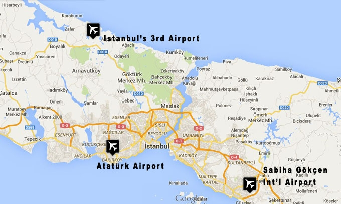 The 3rd airport of Istanbul's welcomes the first plane by 2018